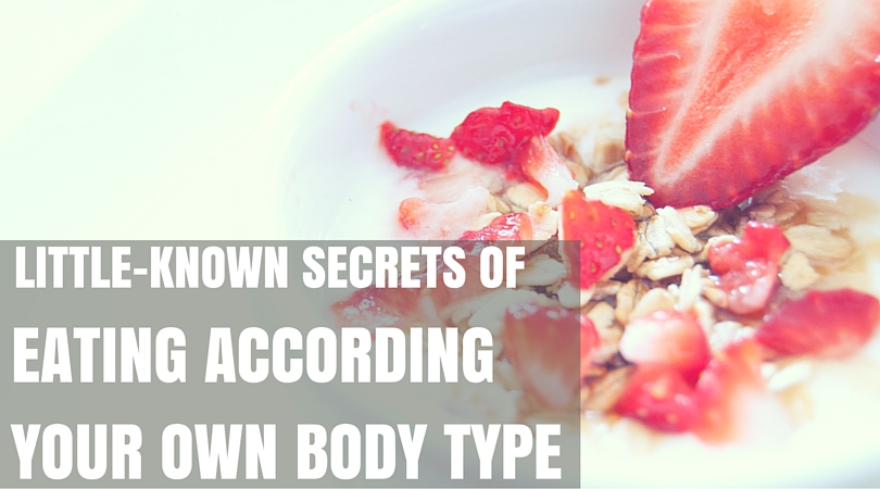 eating according to your own body type